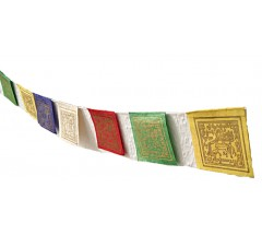 Tibetan Prayer Flags, Horizontal - SMALL