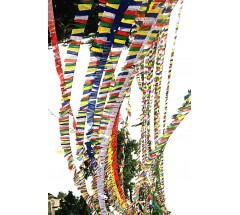 Tibetan Prayer Flags, Horizontal - LARGE
