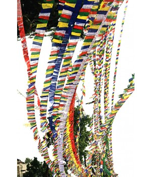 Tibetan Prayer Flags, Horizontal - LARGE