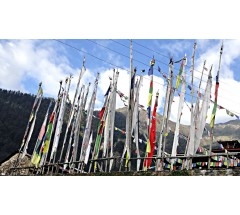 Tibetan Prayer Flags, Vertical - SMALL