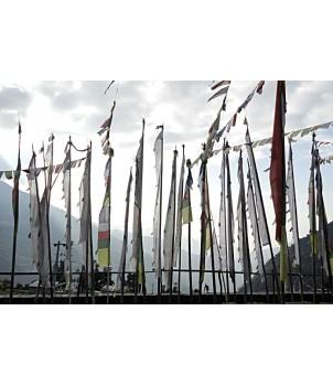 Tibetan Prayer Flags, Vertical - X LARGE