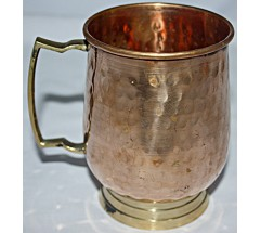 Copper (TAMA) JUG - Hand work in Nepal, Pure Copper Water Jug to neutralize any type of water before drink - Small Size