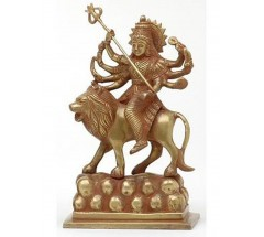 DURGA - statue, Hand worked in Nepal