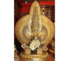 DUKKAR OR SITATAPATRA STATUE- The Powerful Goddess In Buddhism And Kali Hinduism MASTERPIECE STATUE - XXXL Size