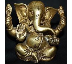 GANESH - Statue,  Hand worked in Nepal