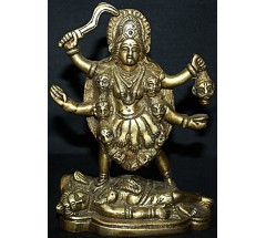 KALI - Statue, Masterpiece, Hand worked in Nepal