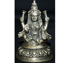 LAKSHMI, GODDESS OF WEALTH -  statue, made and hand worked in Nepal