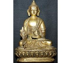 MEDICINE BUDDHA - Statue,  Hand worked in Nepal