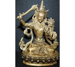 MANJUSHREE - statue, Hand worked in Nepal