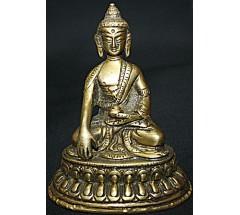 SHAKYAMUNI BUDDHA - Statue,  Hand worked in Nepal