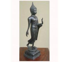 WALKING BUDDHA - Statue,  Hand worked in Nepal