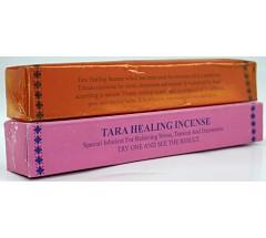 Incense - TARA HEALING Incense, Pure Himalayan Herbal  incense, sticks from Nepali Himalaya (short box)