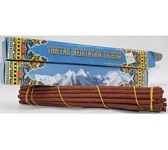 Incense-TIBETAN MEDITATION, Handrolled, Pure Himalayan Herbal  incense, sticks from Nepal