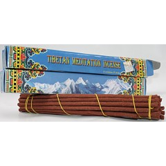 Incense-TIBETAN MEDITATION, Handrolled, Pure Himalayan Herbal  incense, sticks from Nepal
