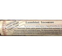 Incense- LUMBINI, Handrolled, Pure Himalayan Herbal  incense, sticks from Nepal