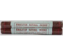 Incense- HIMALAYAN NATURAL, Handrolled, Pure Himalayan Herbal  incense, sticks from Nepal