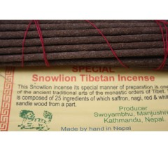 Incense- SPECIAL SNOW LINE, Handrolled, Pure Himalayan Herbal  incense, sticks from Nepal