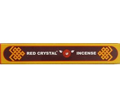 Incense- RED CRYSTAL (SHORT BOX), Pure Himalayan Herbal  incense, sticks from Nepal