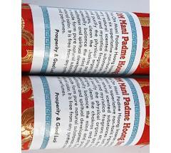 Incense-OM MANI PADME HOONG, Organic Himalayan Incense, made from Nepal