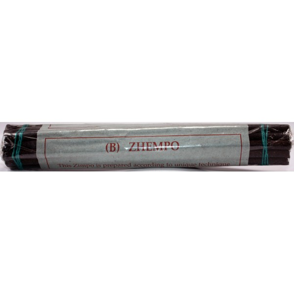 ZHEMPO ROLLED, Handrolled, Pure Himalayan Herbal incense, sticks from Nepal (14.5* cm, 5.7 inch)