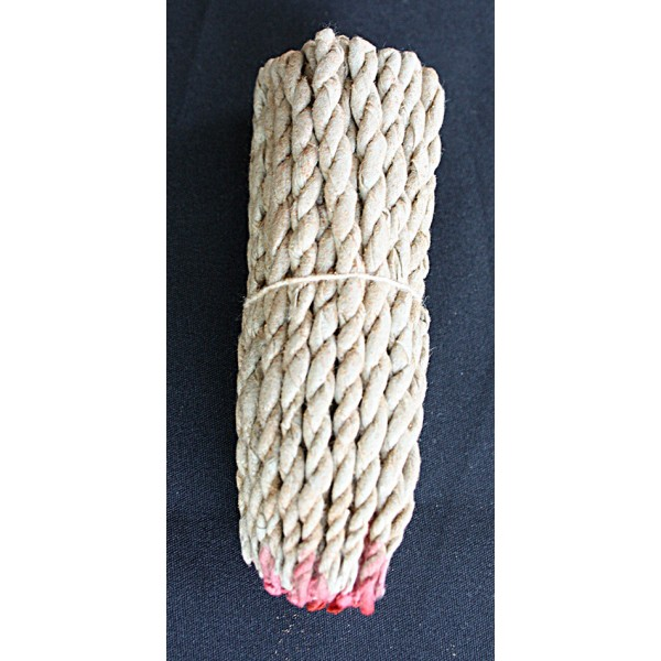 VAJRA MEDITATION INCENSE (Dhupaya), Rope Himalayan Herbal Incense, from nepal (10 cm, 3.9 inch)
