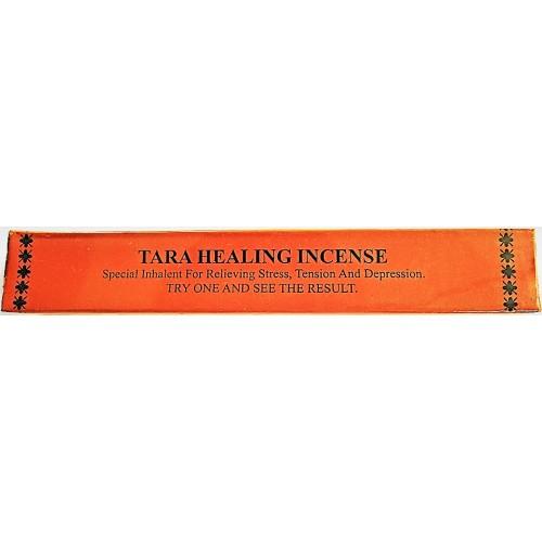 TARA HEALING Incense, Pure Himalayan Herbal incense, sticks from Nepali Himalaya - Short Box (15 cm, 5.9 inch)