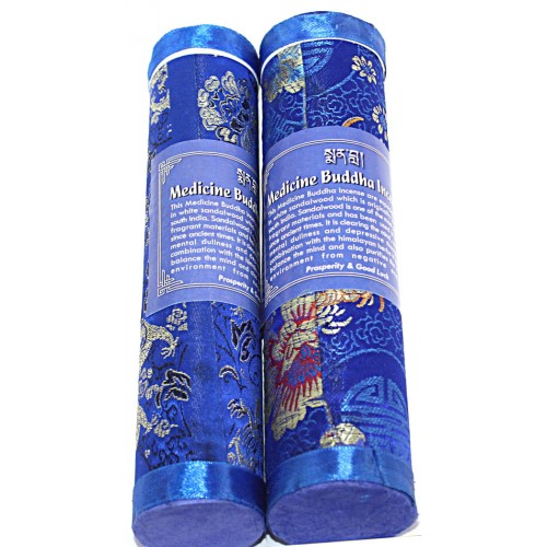 MEDICINE BUDDHA, Pure Himalayan Herbal incense, sticks from Nepal - Hard box (20.5 cm, 8.07 inch)