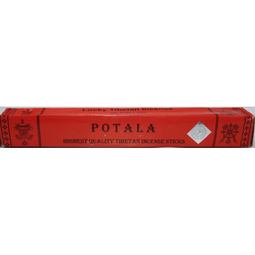 POTALA, Pure Himalayan Herbal, handrolled incense, sticks from Nepal (long Box) - (21 cm, 8.26 inch)