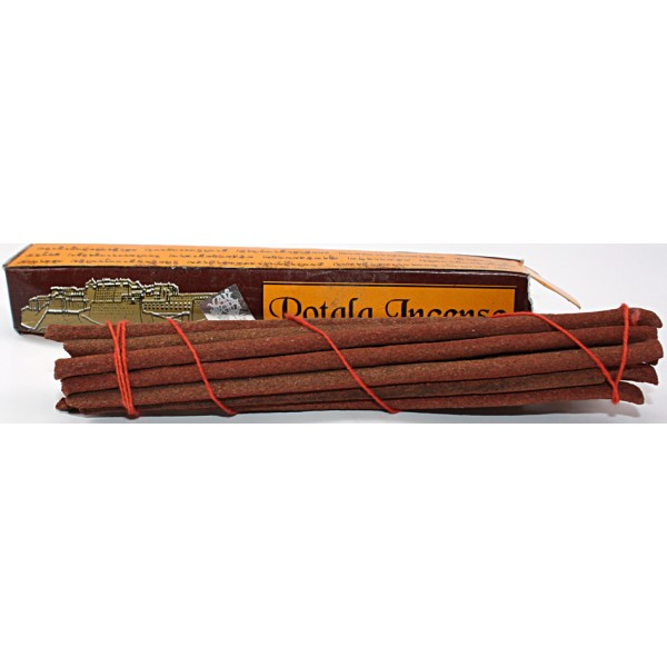 POTALA, herbal, hand rolled incense, sticks from Himalayan pure Herbs -Short Box (15 cm, 5.9 inch)