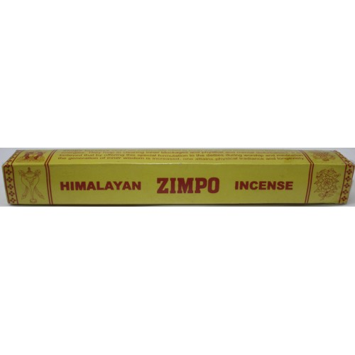 HIMALAYAN ZIMPO, Pure Himalayan Herbal incense, sticks from Nepal - (20.5 cm, 8.07 inch)