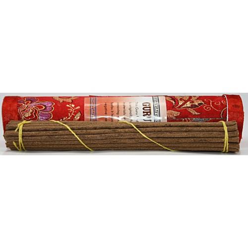 GURU PADHMA SAMBHAV, Pure Himalayan Herbal incense, sticks from Nepal Hard box - (20.5 cm, 8.07 inch)