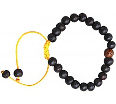 Rosewood Bracelet, 27 Beads, 8 mm