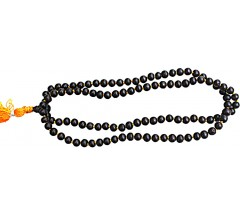 Rosewood Mala, 108 Beads, Knotted, 8 mm