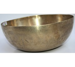 OM - Planetary, Therapetic, Jambati, Normal Real Antique Singing Bowl - Medium Size