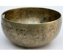 SUN - Planetary, Therapetic, Cobrebati, Normal Real Antique Singing Bowl - Extra Small Size