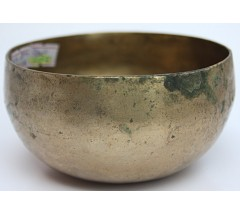 ALPHA - Planetary, Therapetic, Cobrebati, Normal Real Antique Singing Bowl - Extra Small Size