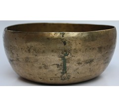 URANUS - Planetary, Therapetic, Jambati, Normal Real Antique Singing Bowl - Medium Size