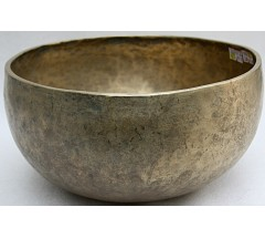C (DO) - Musical, Therapeutic, Jambati, Medium  Real Antique Singing Bowl - Large Size