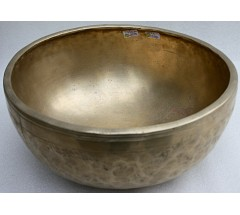 SOUND OF THE DAY & G (SOL) - Planetary, Therapeutic, Jambati, Medium  Real Antique Singing Bowl - X Large Size