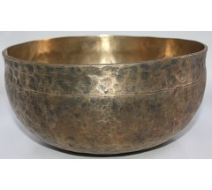 F (Fa) - Musical, Therapeutic, Ultabati, Medium Real Antique Singing Bowl - Large Size