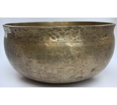 NEPTUNE - Planetary, Therapeutic, Ultabati, Medium Real Antique Singing Bowl - Large Size