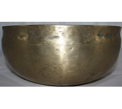G (Sol) - Musical, Therapeutic, Ultabati, Medium Real Antique Singing Bowls - Large Size