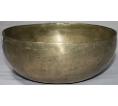 PLATONIC YEAR - Planetary, Therapeutic, Chickenbati, Normal Real Antique Singing Bowl - Medium Size