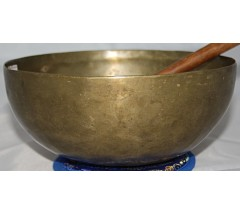 ALPHA - Planetary, Therapeutic, Chickenbati, Normal Real Antique Singing Bowl -Small Size