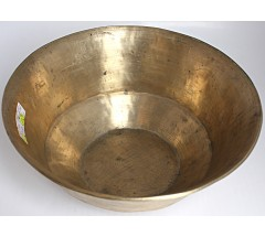 MARS - Planetary, Therapeutic, RARE & Unique shape, like Manipuri, Real Antique Singing Bowl - Medium Size