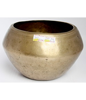 CHIRON - Planetary, Therapeutic, UNIQUE, RARE, BUDDHA'S MEDITATION  Singing Bowl - Medium Size