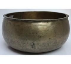 PLUTO - Planetary, Therapetic, Ramgundi, Real Antique Singing Bowl - Medium Size