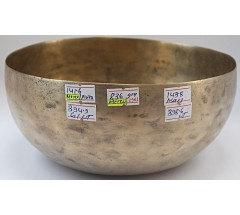 MERCURY - Planetary, Therapeutic, Chickenbati, Normal Real Antique Singing Bowl - Medium Size