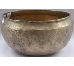 PLATONIC YEAR - Planetary, Therapeutic, Ultabati, Real Antique Singing Bowl - Medium Size