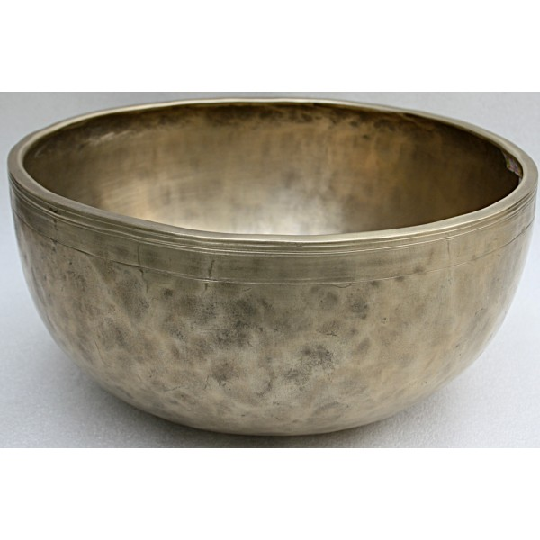 MARS - Planetary, Therapeutic, Healing, Tibetan, Handmade, Jambati, Superior Real Antique Singing Bowl -  Large Size